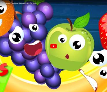 Five Little Fruits Lyrics