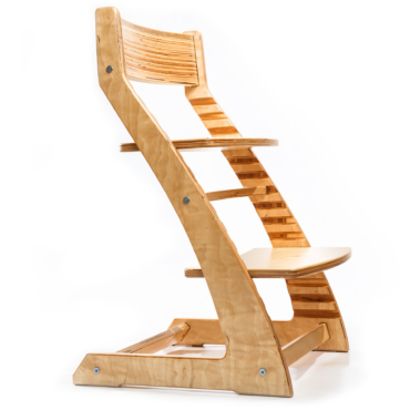Heartwood Adjustable Wooden High Chair