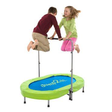Jump2It Kids Portable 2-Person Mini Trampoline