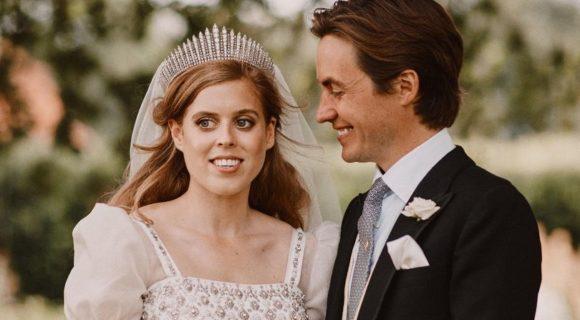 Beatrice married Edoardo in a secret lockdown wedding in Windsor