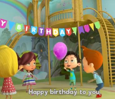 Happy Birthday + Lyrics