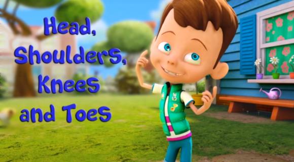 Head, Shoulders, Knees and Toes + Lyrics
