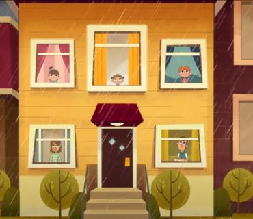 Rain Rain Go Away + Lyrics
