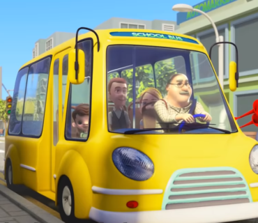 The Wheels On The Bus + Lyrics