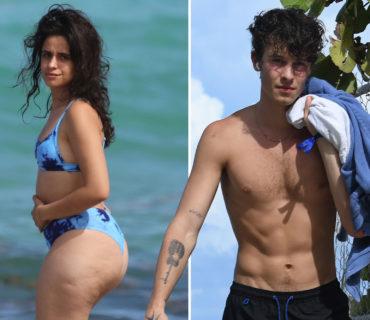 Camila Cabello Beach Photos