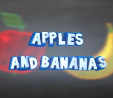 Apples and Bananas + Lyrics