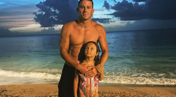 Channing Tatum with daughter