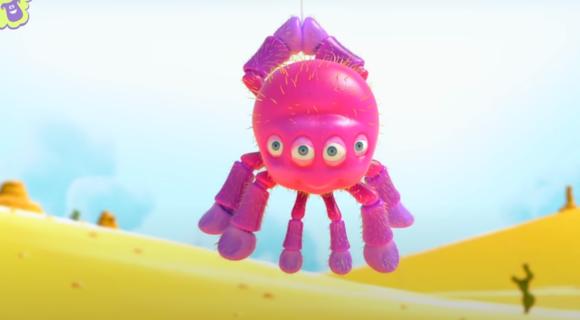 Itsy Bitsy Spider + Lyrics