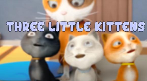 Three Little Kittens + Lyrics